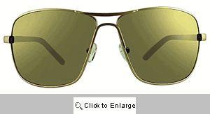 Rookie Large Aviator Sunglasses - 271 Gold