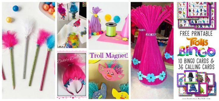 fête de Trolls wooloo