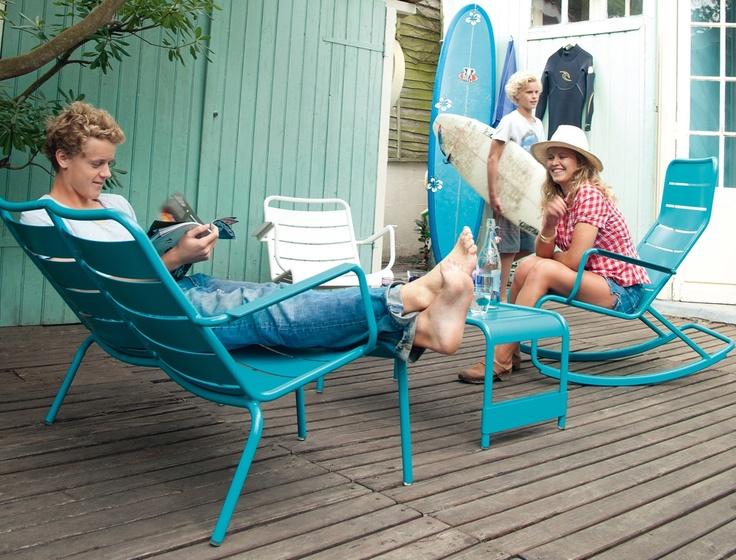 Luxembourg rocking chair #fermob #rockingchair # design # outdoor #garden
