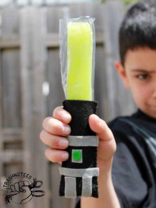 Filz-Laserschwertgriff für Wassereis