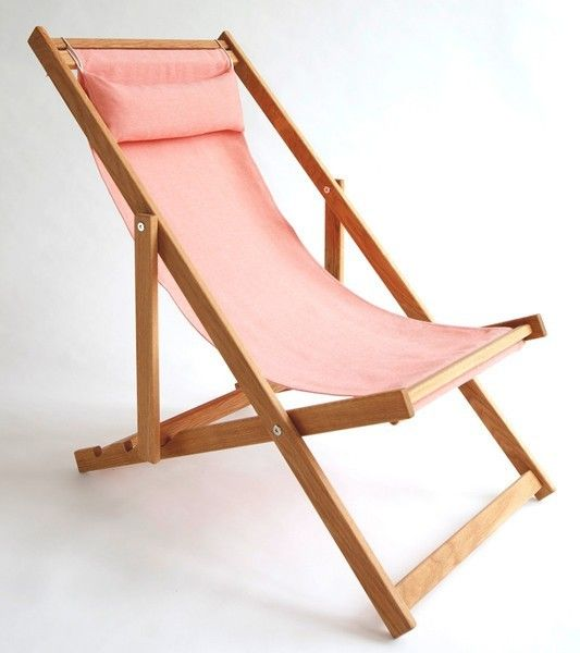 5 best folding chairs - Gallant & Jones Coral Beach Chair | Remodelista