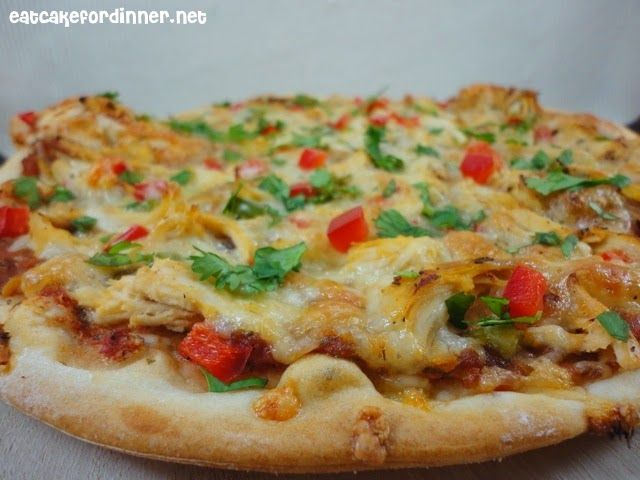 Eat Cake For Dinner: Spicy Chicken and Pepper Jack Pizza