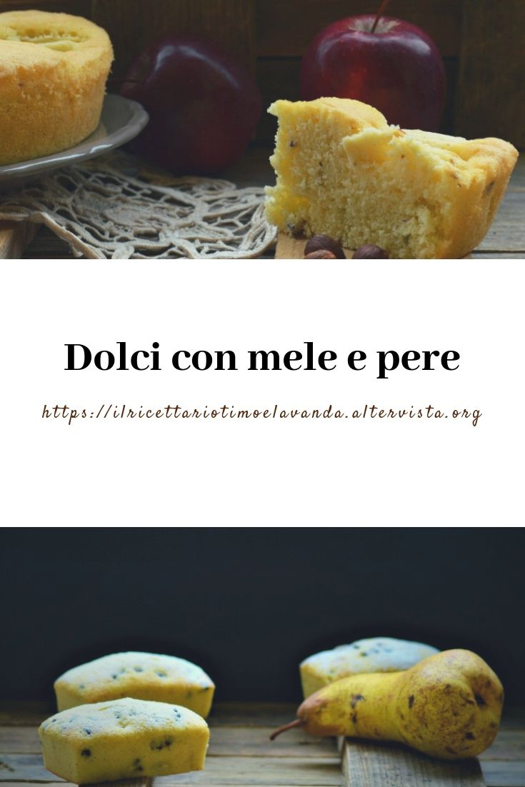 Dolci con mele e pere cook food recipes e cake for Strudel di mele fatto in casa da benedetta