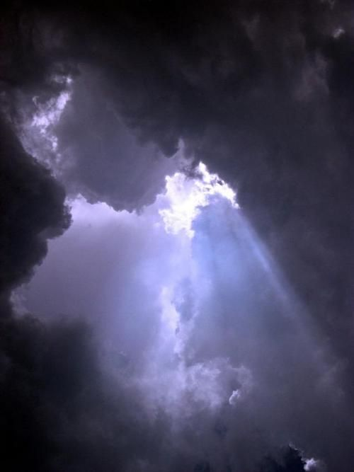 .Breaking Up, Bible Stories, Jeff Epps, Beautiful, Mothers Nature, Storms Clouds, Dark Sky, Sky Lights, Sky High