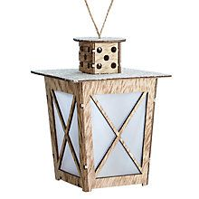 Buy John Lewis Natural Lantern, Small Online at johnlewis.com