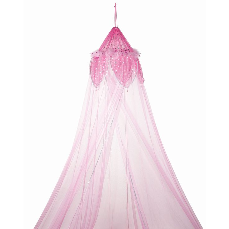Three Cheers For Girls! Fantasy Bed Canopy in Pink - 78560