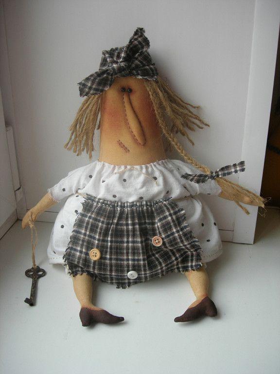 кукла бабка с ключом