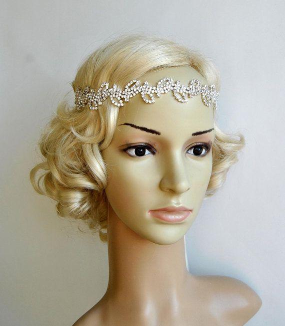Strass Stirnband Halo Bridal Wedding Bridal von BlueSkyHorizons