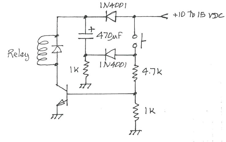 Wiring Diagram 4 Pin Relay Horn Diagrams Radar Wires Prong