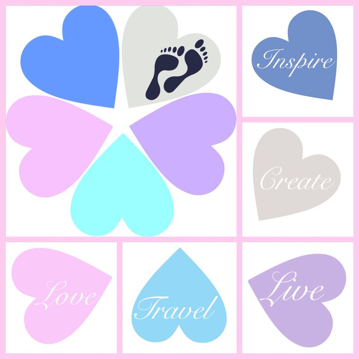 #live #love #travel #inspire #create