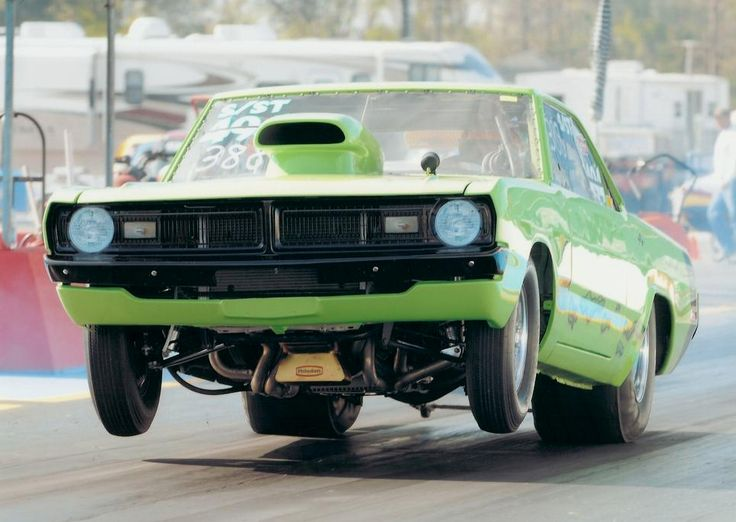 "Destry St.Pierre Pulls The Wheels Up On His 1972 Dodge Dart! ""408 stroker 635HP, Powerglide, Dana 60, 4.56 gears. Best time in 1/4 is 9.48. Named Slimer from the Ghostbusters movie"" #wheelsupwednesday #slimer #mopar #ghostbusters #wheeliewednesday #wickedwednesday"
