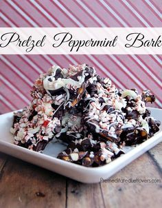 Pretzel Peppermint Bark Recipe