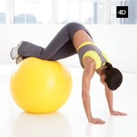 Shrink Your Belly In 14 Days - Stability Ball Exercises