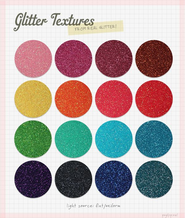 Freebie - Genuine Glitter Texture Download