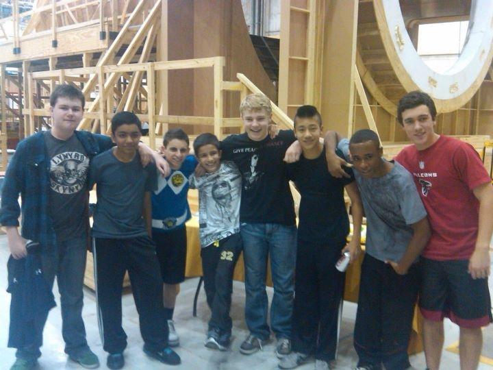 Ender's Game cast: Pictured from left to right: Conor Carroll (Bernard), Suraj Partha (Alai), Moises Arias (Bonzo), Aramis Knight (Bean), Jimmy Pinchak (Peter), Brandon Soo Hoo (Fly), Khylin Rhambo (Dink), Cameron Gaskins (Slattery: rumored)