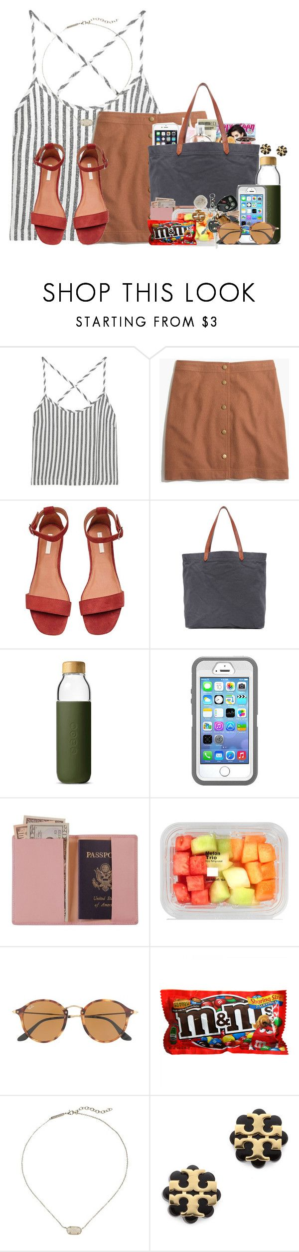 """""""What a great weekend"""" by flroasburn ❤ liked on Polyvore featuring Kain, Madewell, Soma, Royce Leather, Ray-Ban, Kendra Scott and Tory Burch"""
