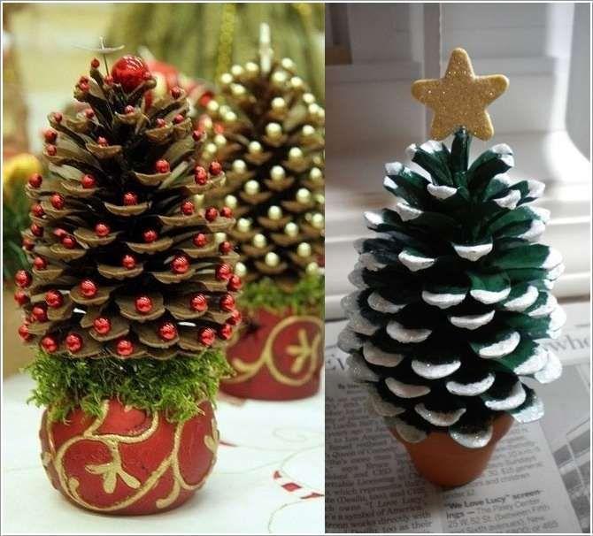 Christmas Tree Pinecones