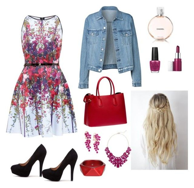 """Spring walk"" by elina-fayzulina on Polyvore featuring мода, Ted Baker, Prada, Clinique, OPI, Effy Jewelry, Eye Candy и McQ by Alexander McQueen"