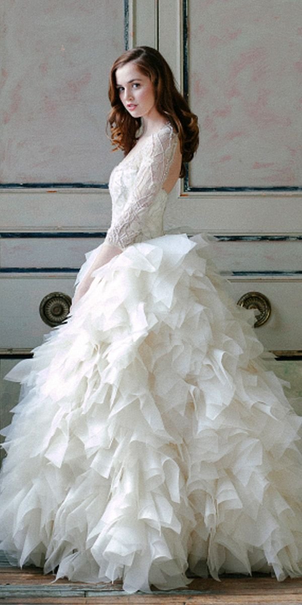 25 best ideas about feather wedding dresses on pinterest