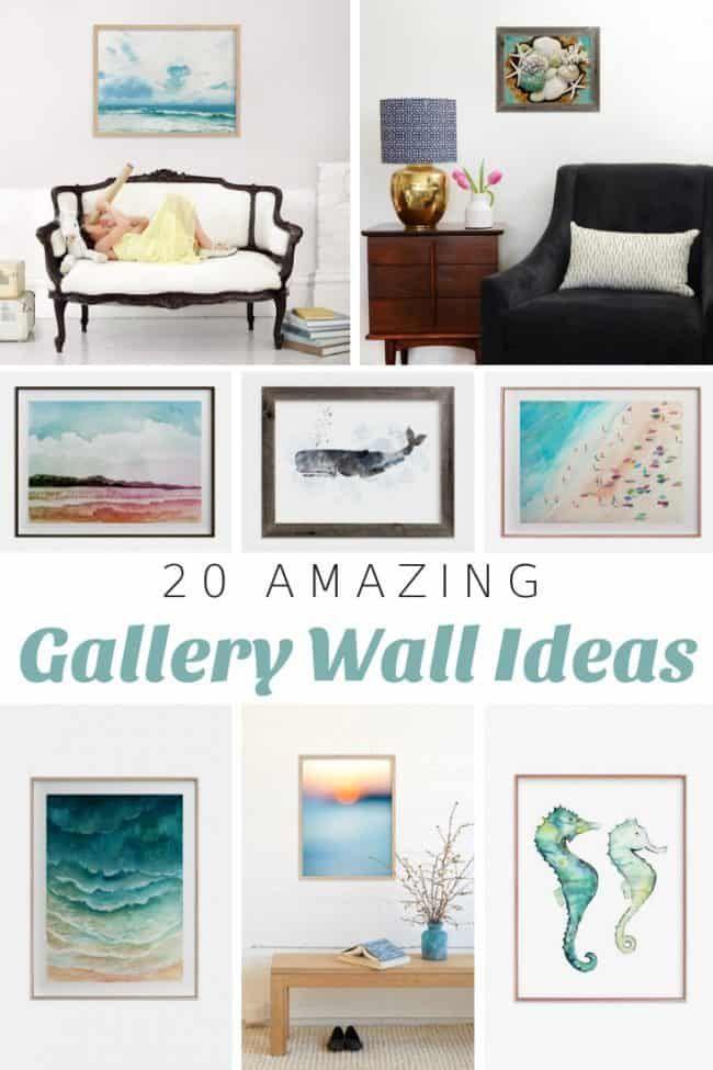 20 Best Coastal Gallery Wall Ideas Gallery Wall Diy House