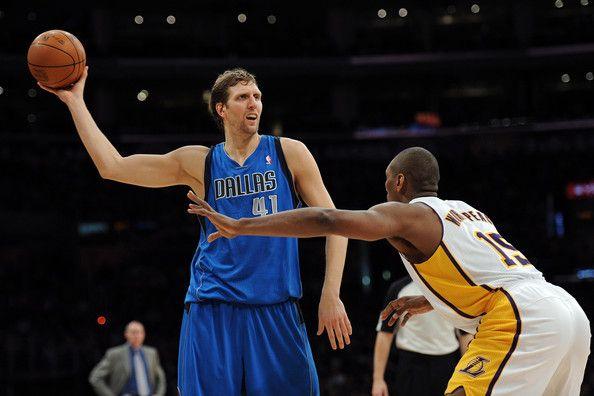 Dirk Nowitzki - Dallas Mavericks v Los Angeles Lakers