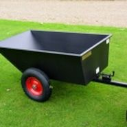 Garden and lawn trailer. For more info: http://www.fresh-group.com/trailers-trolleys-and-carts.html