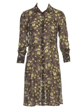 Schnittmuster: Hemdblusen-Kleid - Chiffon - Sommerkleider - Kleider - Damen - burda style