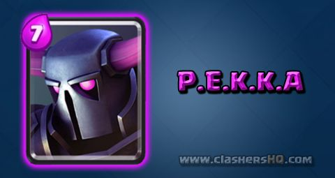 Find out all about the Clash Royale P.E.K.K.A. Card. How to get P.E.K.K.A. & attack/counter P.E.K.K.A. effectively.