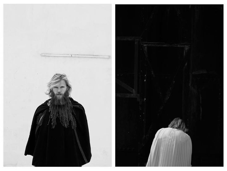 """""""asap_05"""". Steffen photographed by Christos Kapralos and styled by He-m-n-oid…"""