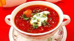 Borsch ucraniano clásico, Típica cocina ucraniana: recetas, fotos.