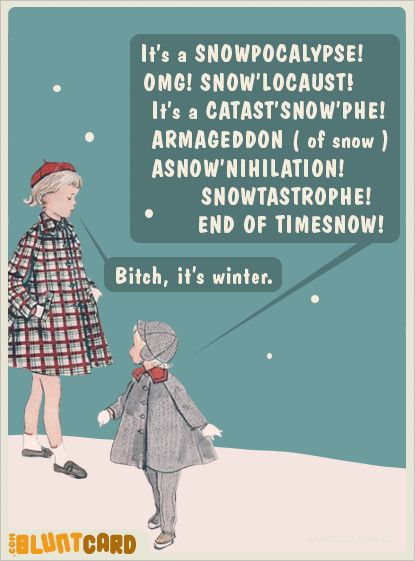 HAHAMichigan, Winter, New England, Bluntcards, Snow, Funny Stuff, Blunt Cards, Storms, People