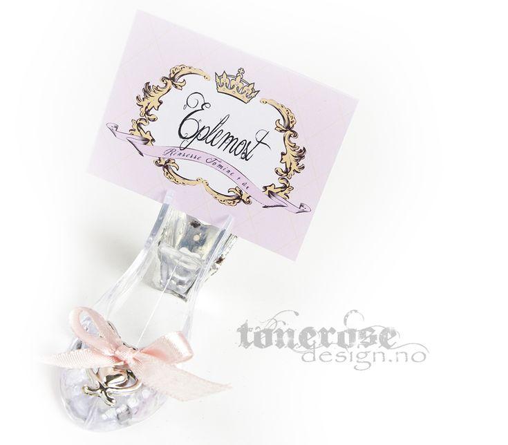 Cinderella glass slipper dessert table