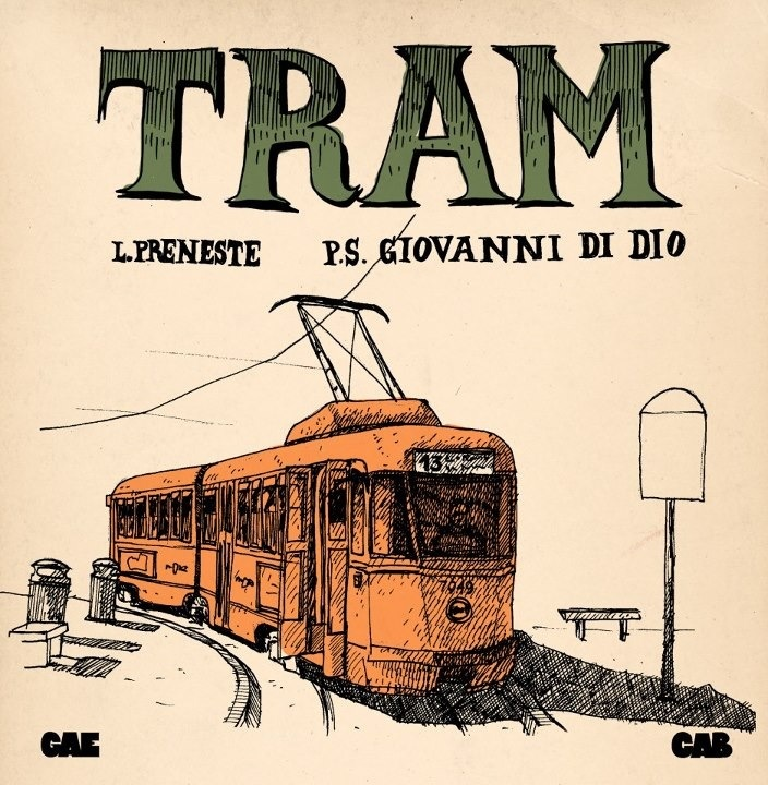 Rome tram by GAE CAB