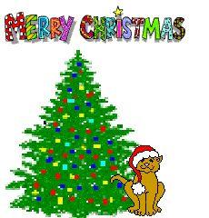 animated christmas tree clip art christmas tree animation clip art - Animated Christmas Decorations
