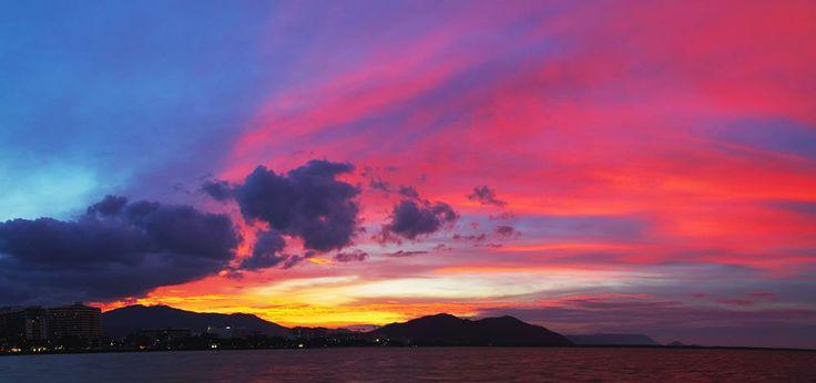 Cairns Esplanade - Winter Skies
