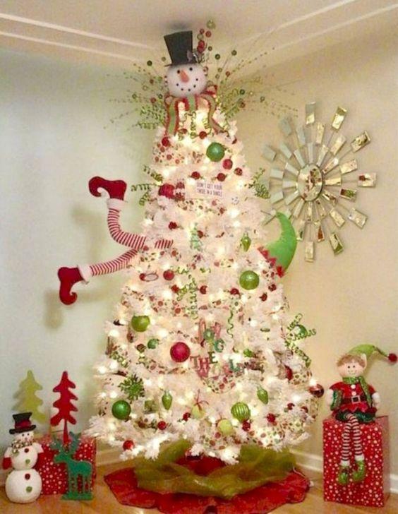 Decoration De Noel Boule En Verre Amazon
