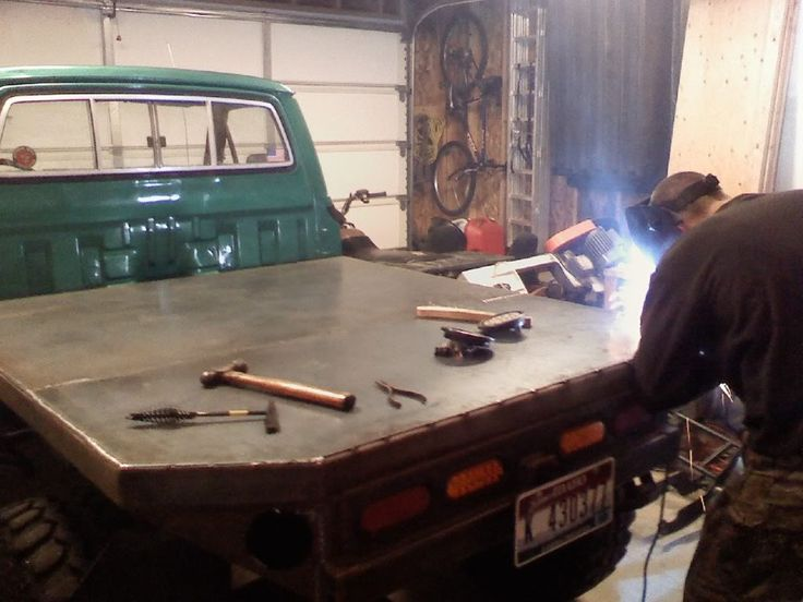 our 83 pickup flatbed build - YotaTech Forums