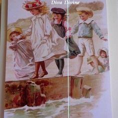 Peinture à l'Aquarelle pour Tableau Romantique ° ALICE ° - AQUARELLE PEINT A LA MAIN