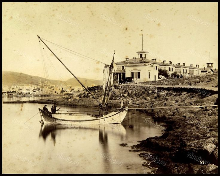 Η συνοικία Τσίλλερ γύρω στο 1890. Φωτογραφία: Αφοί Ρωμαΐδη.