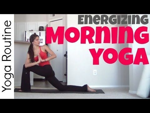 ▶ Energizing Morning Yoga Routine - YouTube