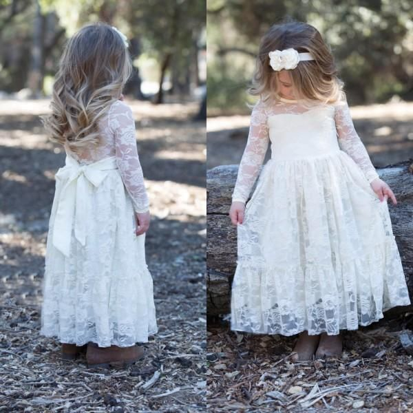Best 25  Vintage flower girl dresses ideas on Pinterest | Rustic ...