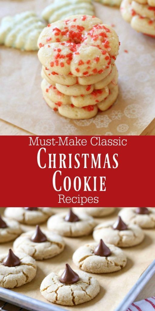 Top 5 Favorite Classic Christmas Cookie Recipes Christmas And