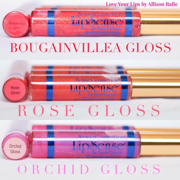 Bougainvillea Gloss Rose Gloss Orchid Gloss  LipSense Distributer #328364 Love Your Lips by Allison Rafie Follow me on Instagram @luvurlips