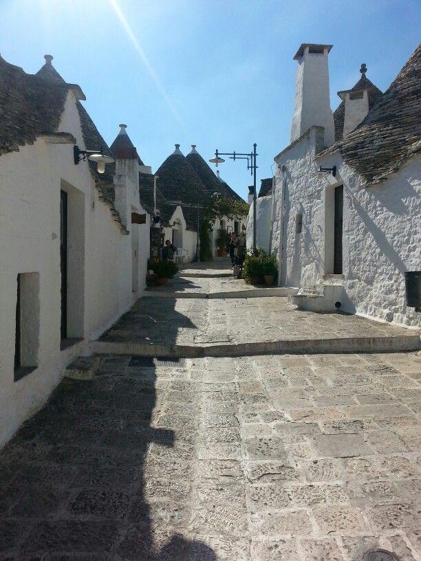 #Alberobello #Trulli #houses #Unesco