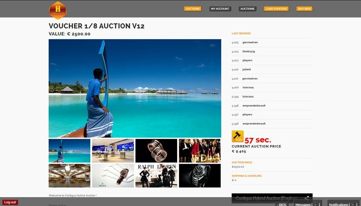 Join to Conligus Online Hybrid Auctions (www.hybridauction.com), where you can get some luxury products and exclusive trip cruises with 91 % or more discount!!  At hybrid auctions you will never lose your money when you buy the product you are bidding on. We will fund your bets back! That´s why we are special.   Here is invitation link to this project: https://travelandearn.conligus.org/   #onlineauction #auction #conligus #networkmarketing #luxuryproducts #luxurygoods