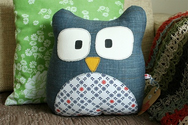 Kussen - uiltje: Cushions, Craft Ideas, Pillows