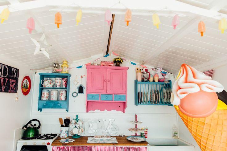 17 Best Ideas About Beach Hut Interior On Pinterest