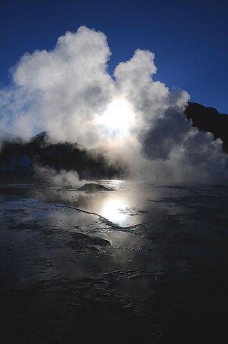 El Tatio Geyser field (near San Pedro de Atacama), Chile (El Tatio Geyser in Chile)