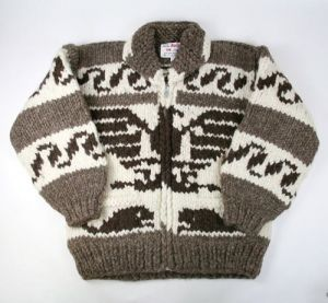 Traditional Cowichan Sweater