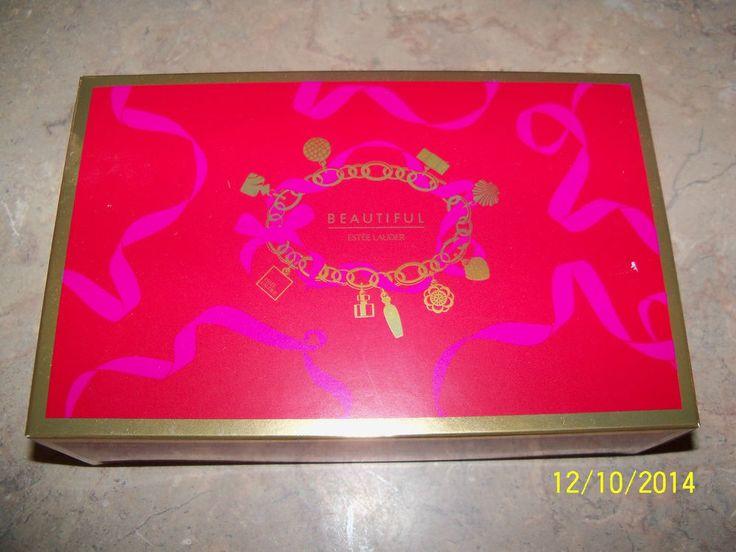 Estee Lauder Beautiful Perfume Spray .16 oz & Mini Sample Body Lotion 1 oz